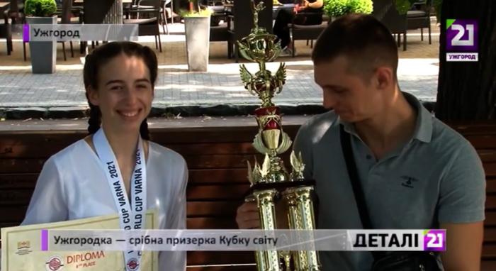 Срібло Кубку світу із кіокушин-карате привезла ужгородка Валерія Моца.
