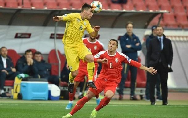 Команда Шевченка на останніх хвилинах вирвала нічию у матчі із сербами.