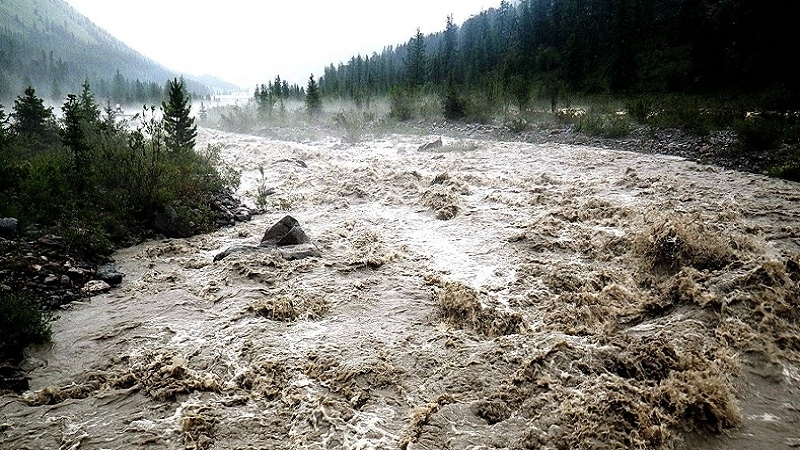 На Рахівщині з гори зійшов селевий потік