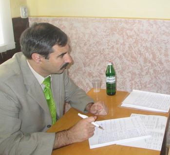 30 липня у Виноградівському райвідділі міліції провів особистий прийом громадян представник Головного штабу МВС України Олексій Яровий.