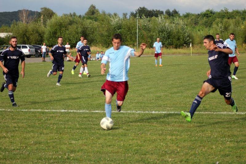 У неділю, 16 серпня, відбулись прем'єрні поєдинки чемпіонату Мукачівського району з футболу 2020.