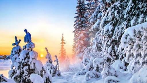 Температура повітря вночі 1° тепла — 1° морозу, вдень 0-2° тепла.