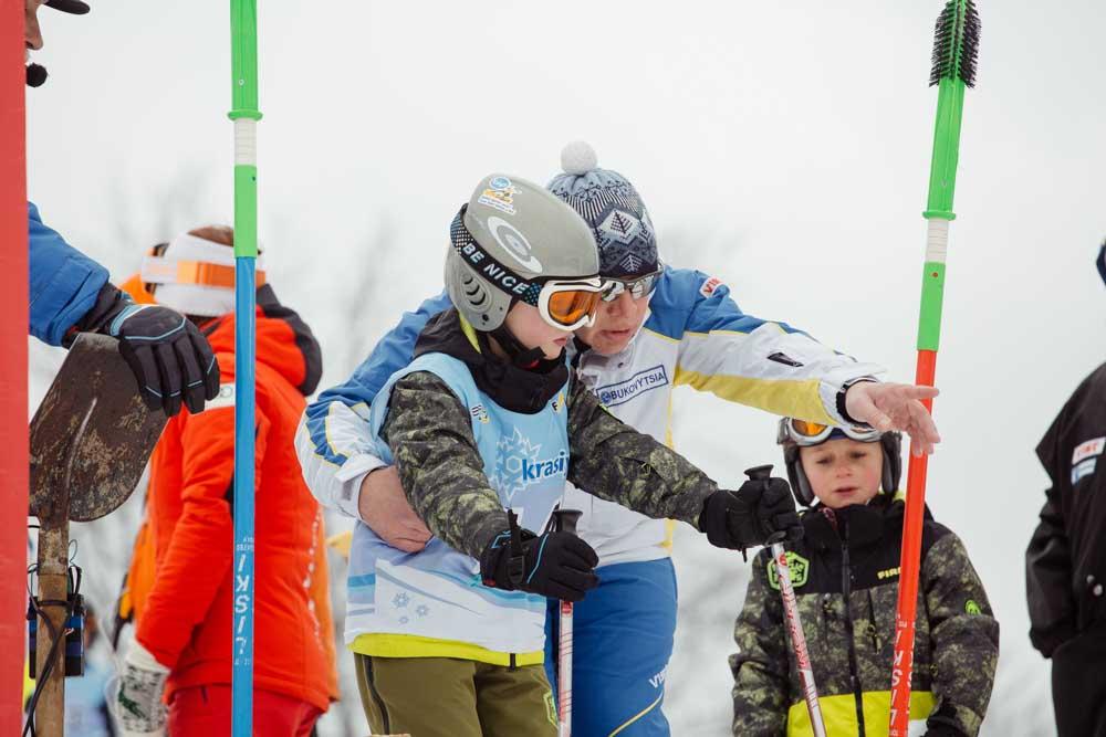 Другий Чемпіонат України з лижного спорту