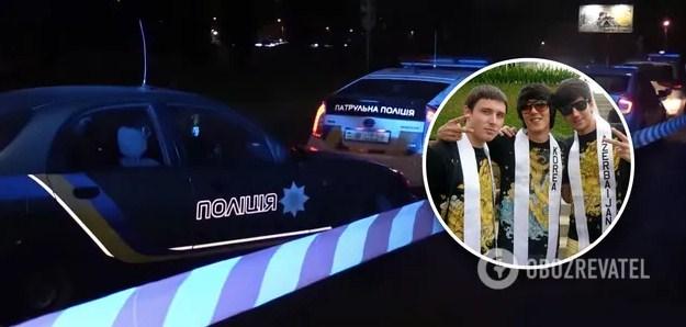 У Києві на вулиці Героїв Космосу співробітники патрульної поліції зупинили підозрілий автомобіль, з якого вибігли пасажири і один із них почав стріляти.