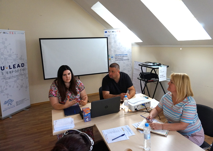 В Ужгороді відбувся тренінг для архітекторів та землевпорядників ОТГ та потенційних об'єднаних громад «Актуальність просторового планування та зміни в містобудівному, земельному законодавстві».