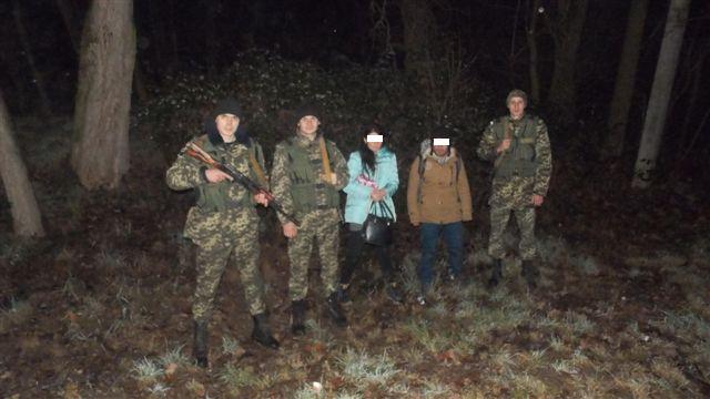Грузин та українка намагались перелізти через паркан та потрапити до країн Євросоюзу.