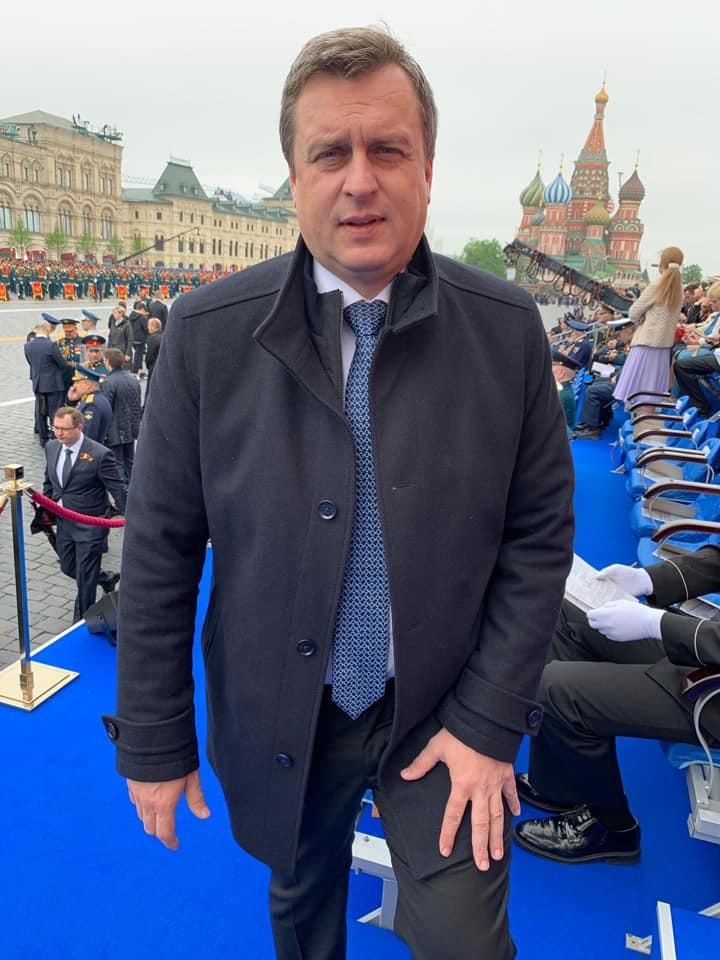 Спікер парламенту Словаччини став єдиним європейським політиком, що прибув до Москви на військовий парад 9 травня.