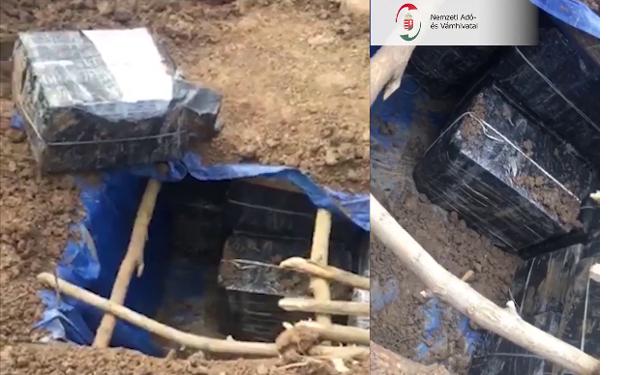 Неподалік українсько-угорського кордону виявлено підземний сховок контрабандистів.