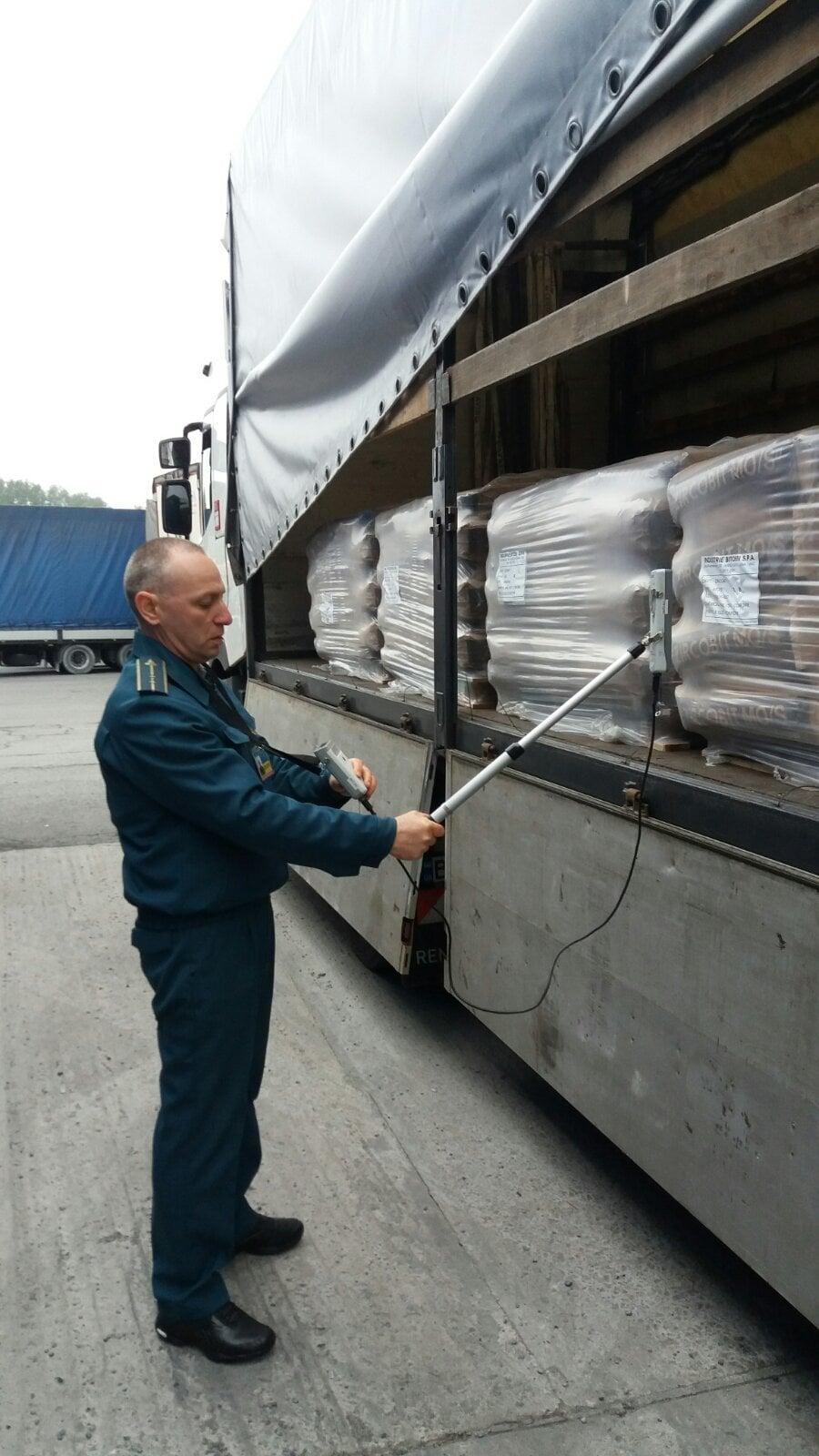 Система відреагувала на вантажівку, яка в'їжджала на територію України.