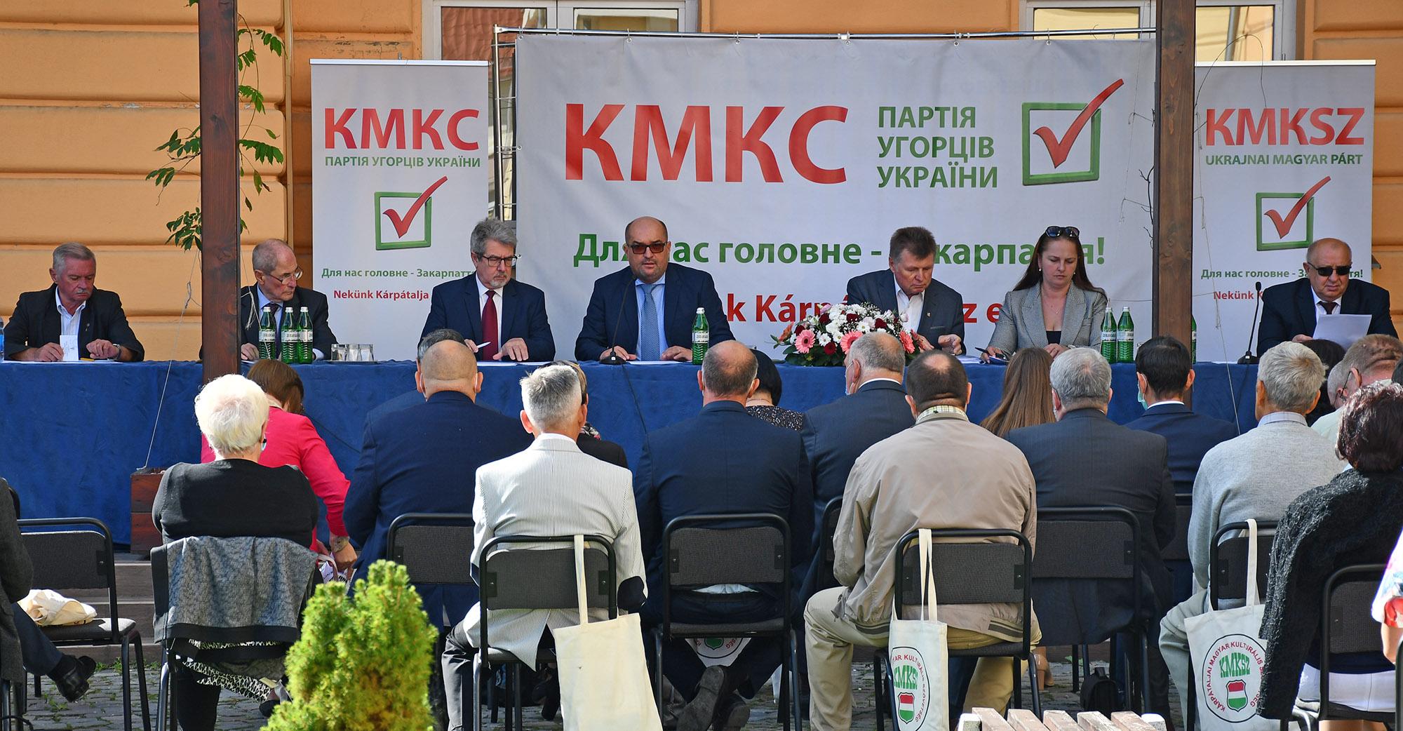 Під час загальних зборів представників Товариства угорської культури Закарпаття (КМКС) у місті Берегово 19 вересня Василя Брензовича обрали головою організації на наступні три роки.