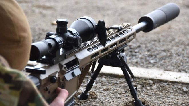 В Україні - знову великий попит на зброю і боєприпаси.