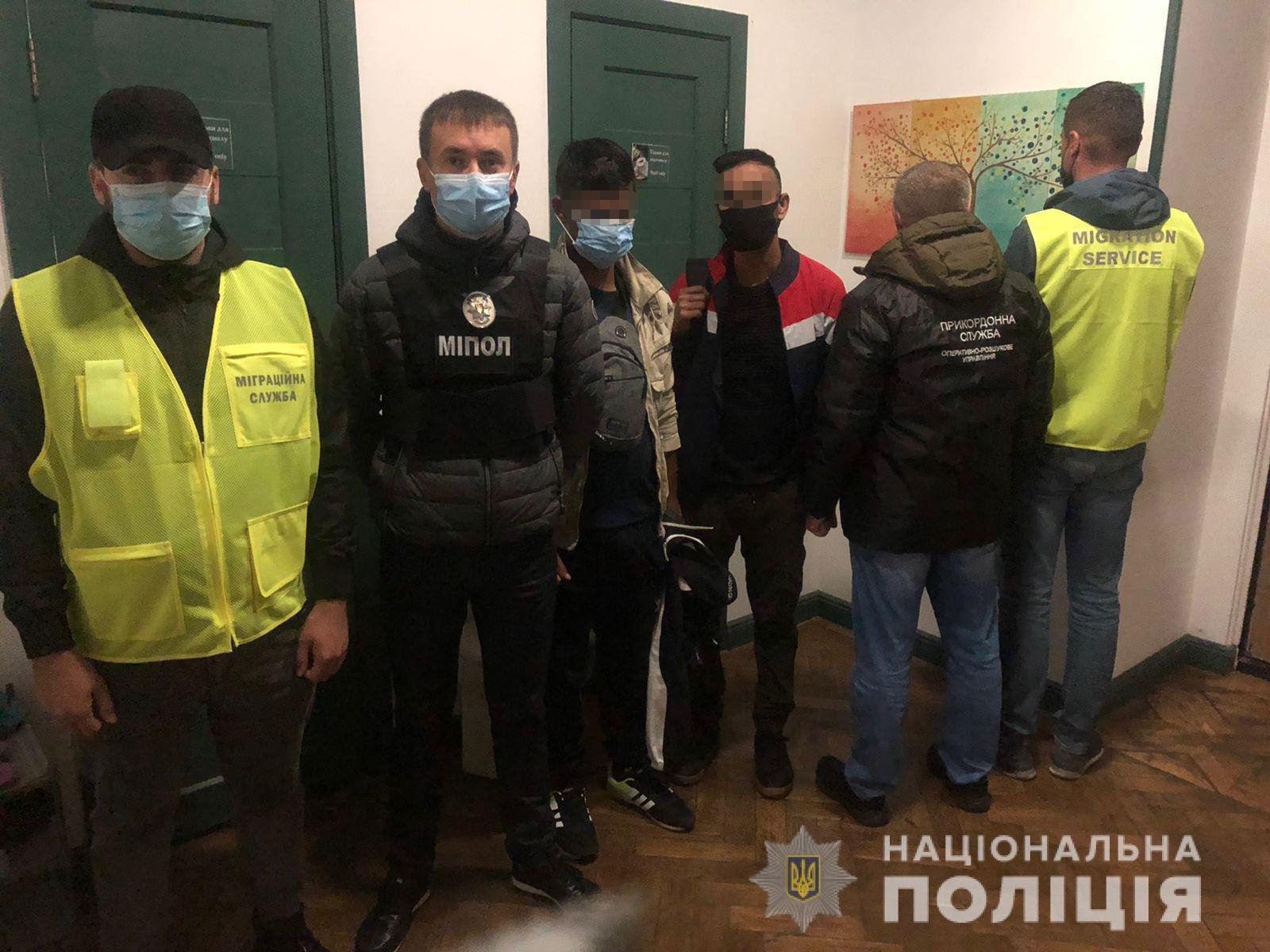 Порушники перебували в Україні понад дозволений законодавством строк.