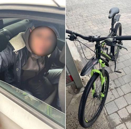 Подія трапилася сьогодні, близько 12-ї години. Інспекторам надійшов виклик про крадіжку велосипеда на площі Жупанатській.