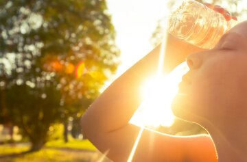 Температура повітря влітку в Україні може сягати 40 градусів.