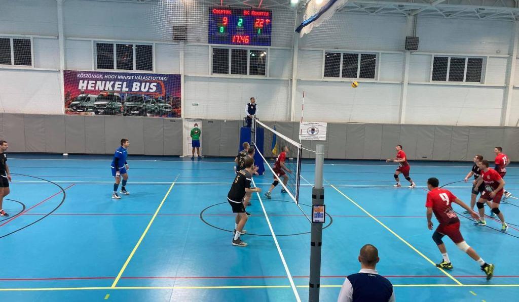 Майданчик європейського рівня надав для проведення групового турніру з волейболу серед чоловічих команд Вищої ліги України Закарпатський угорський інститут.