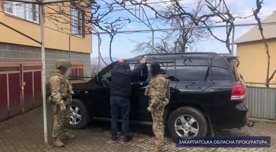 Про це повідомила пресслужба Закарпатської обласної прокуратури.
