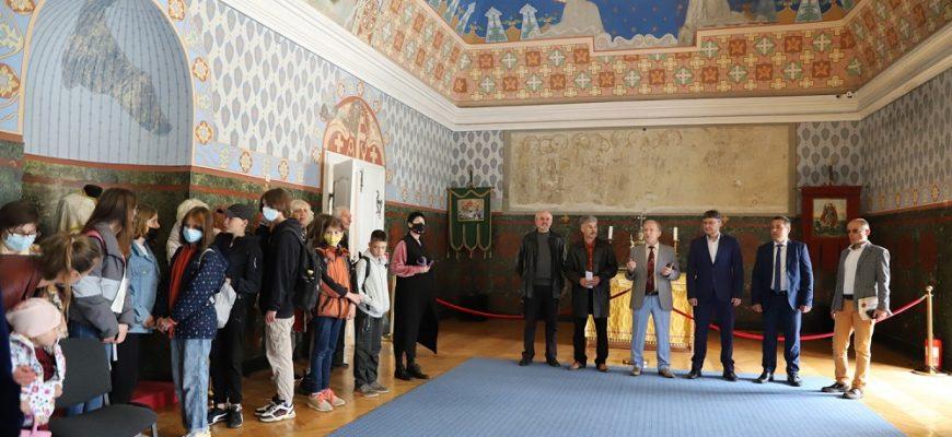 Урочистості з цієї нагоди сьогодні відбулися в обласному краєзнавчому музеї імені Тиводара Легоцького, що в замку.
