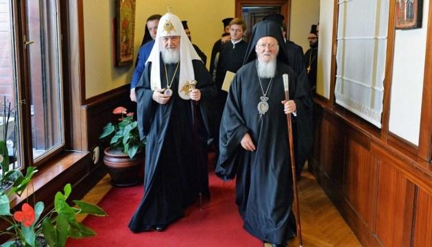 Росіяни побоюються, що церкви Московського Патріархату в Україні тепер піддадуться натиску, і клянуться їх захистити.