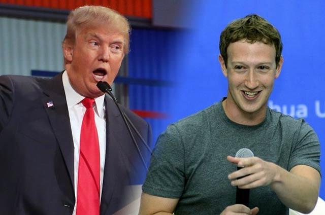 Повідомлення про телефонні переговори між главою Facebook і президентом Сполучених Штатів викликало збільшення критики на адресу Цукерберга.