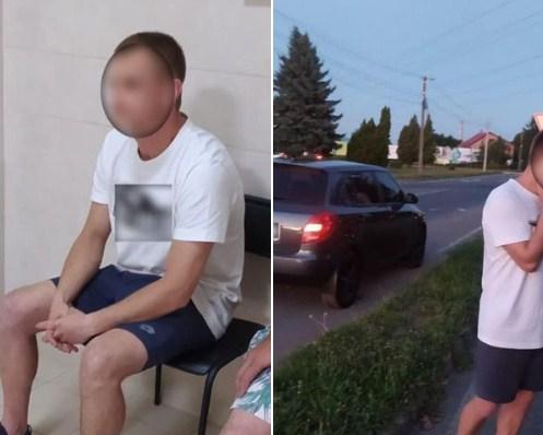 Це трапилося вчора, на об'їзній Мукачева. Близько 21-ї години, інспектори зупинили авто Skoda за порушення ПДР.