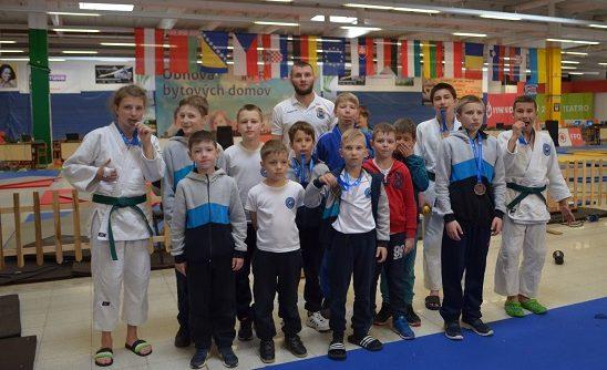 У суботу, 11 травня, словацька місто Римавська Собота приймало 43 Міжнародний турнір з дзюдо серед юнаків та дівчат.