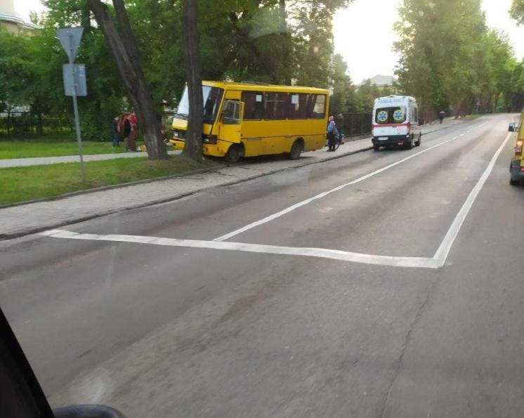 Аварія сталася у Львові на Левандівці.
