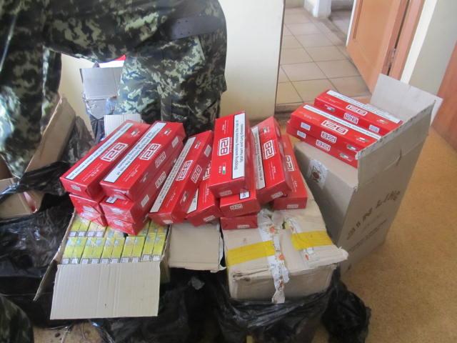 3000 пачок цигарок ховали від закарпатських прикордонників у вантажному потязі