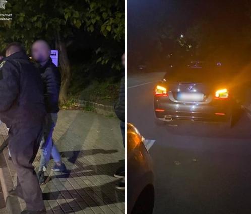 Це трапилося сьогодні, на вулиці Анкудінова, в Ужгороді. Близько 1-ї години, інспектори зупинили авто BMW за порушення ПДР.