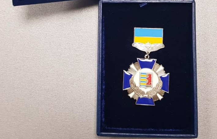 Відзнака вручена Василю Дану за особистий внесок у соціально-економічний і культурний розвиток регіону.