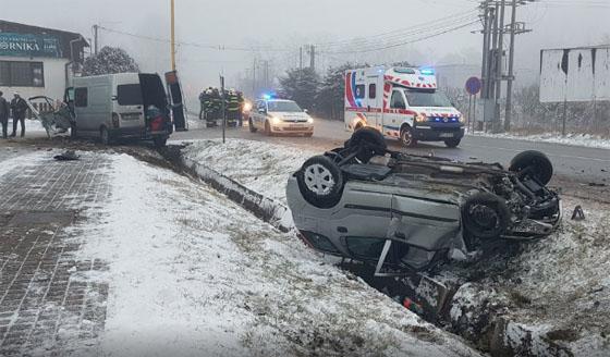 В результаті ДТП в Словаччині постраждали українці
