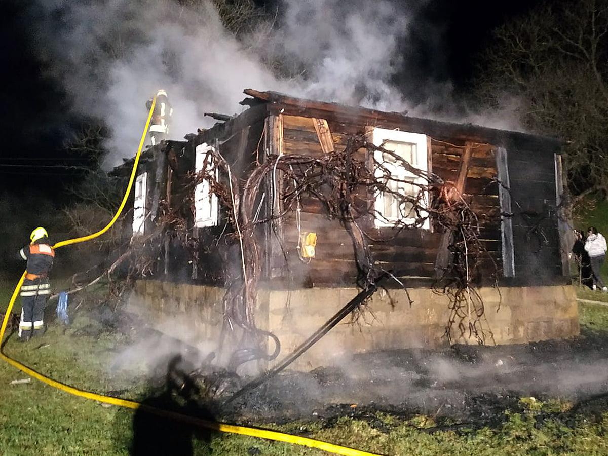 Минувшей ночью произошел пожар в селе Вильхивчик Тячевского района.