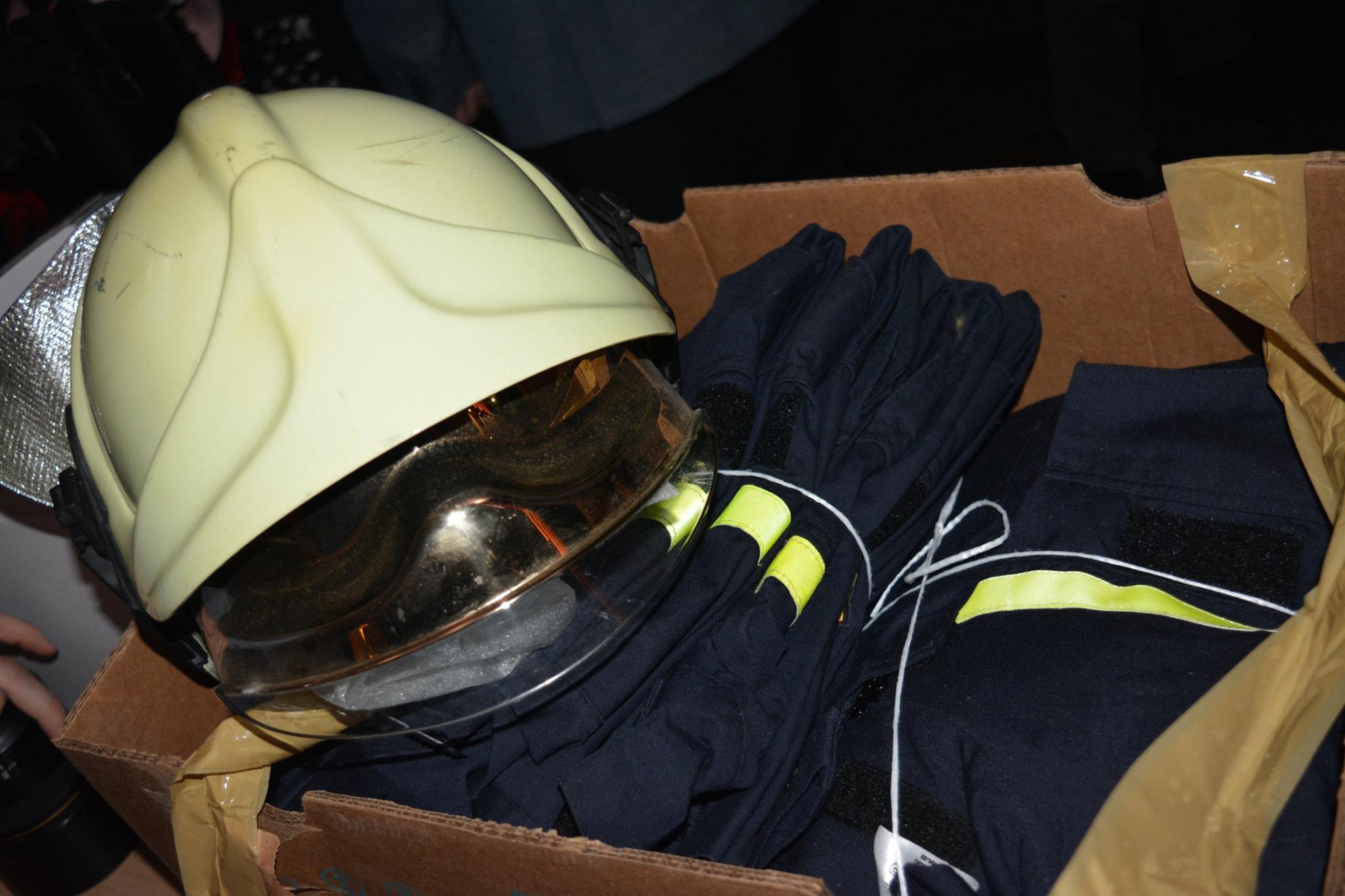 Закарпатські рятувальники отримали благодійну допомогу від чеських колег.