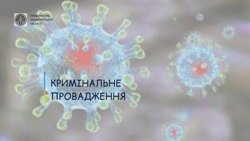 За повідомленням місцевих ЗМІ про різкий спалах інфекції COVID-19 у психоневрологічному інтернаті Мукачівською місцевою прокуратурою зареєстроване кримінальне провадження.