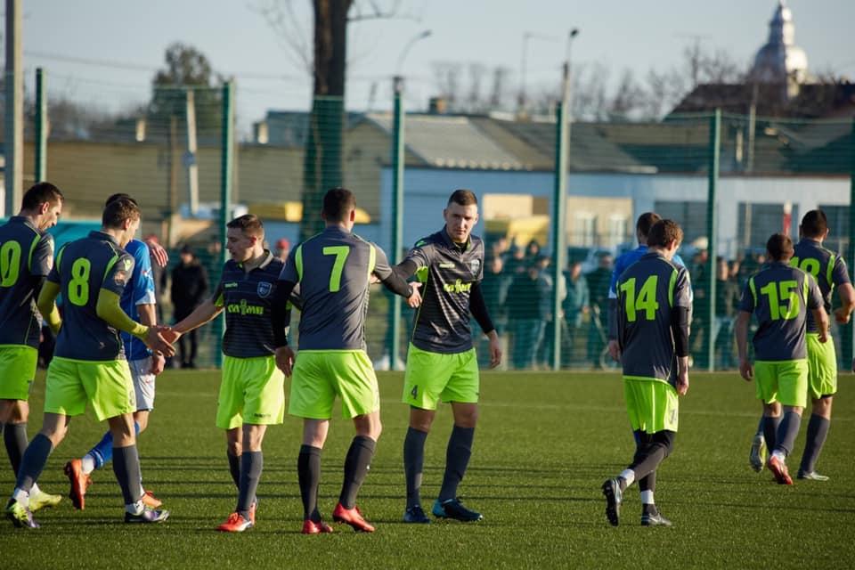 Виноградівці зустрічались із футболістами з Дубового.