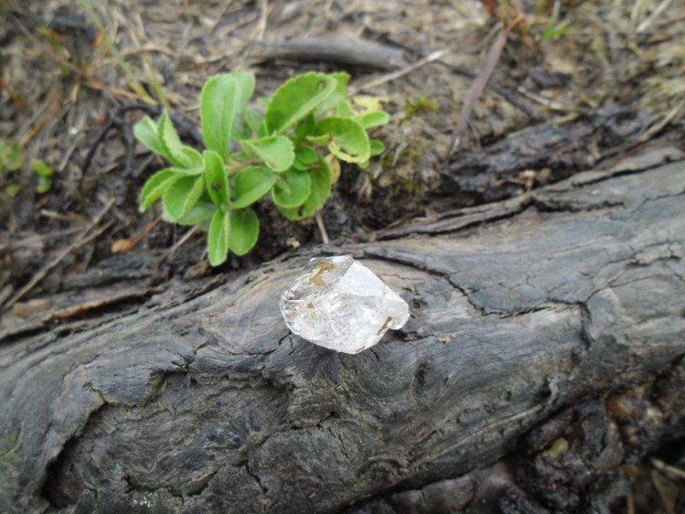 "Мармароський ""діамант"": закарпатець знайшов рідкісний камінь"