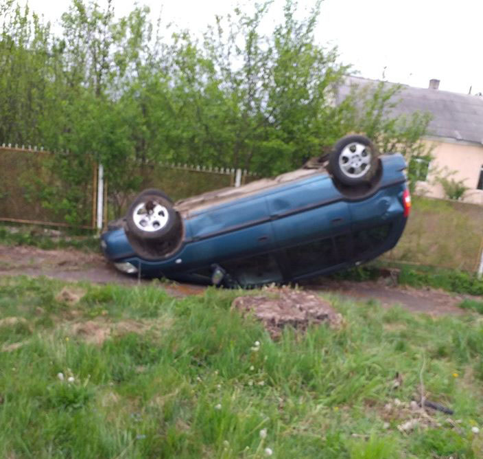 У місті Іршава учора вдень сталася незначна ДТП: автомобіль марки «Оpel Zаfіrа» іноземної реєстрації, за кермом якого перебувала місцева жителька, з'їхав із дороги в кювет.