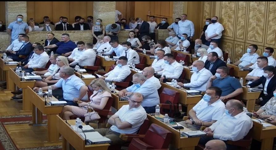 Відбулося переформатування більшості у Закарпатській обласній раді.