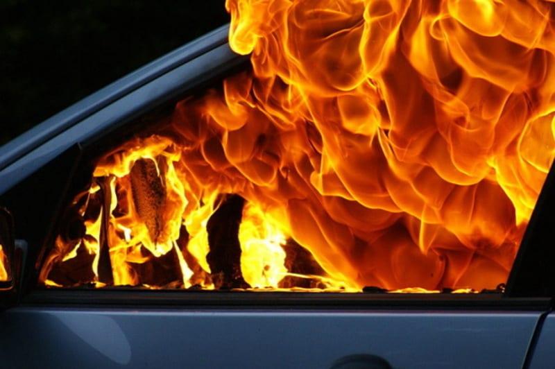 На Тячівщині згоріла