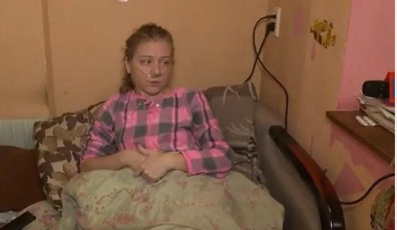 Олена Тара, 33-річна ужгородка хворіє на дуже рідкісну хворобу - муковісцидоз.