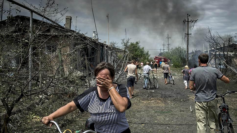 война на востоке украине фото